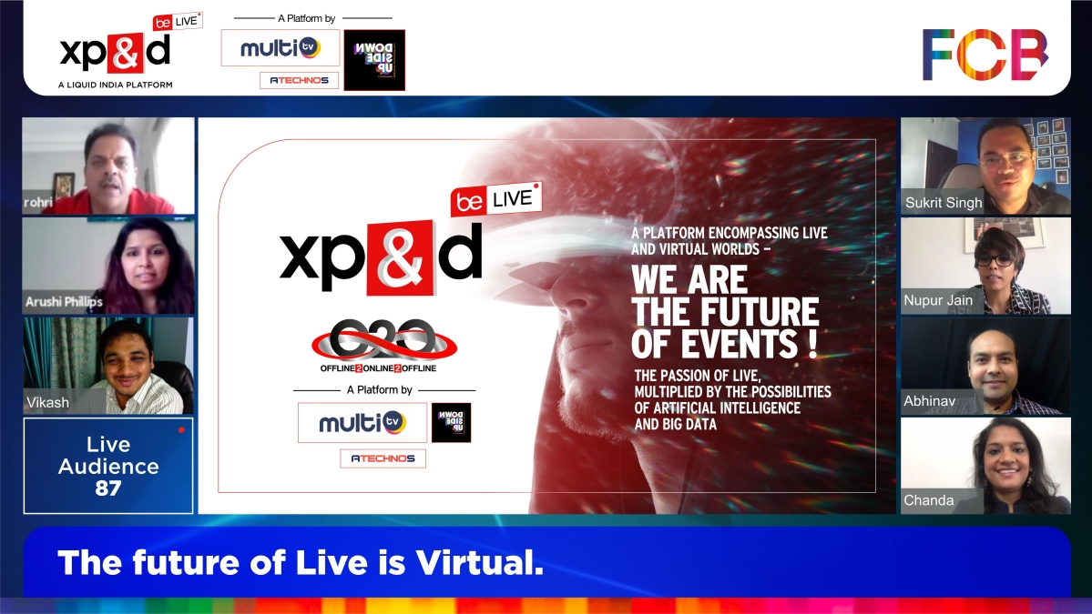 FCB India announces the launch of XP&D Be.Live