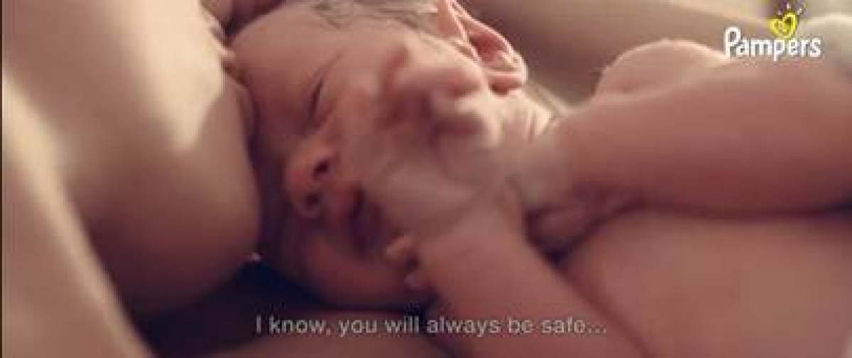 Pampers' #WelcomeToTheWorld campaign voices a mother's wish of hope for her newborn