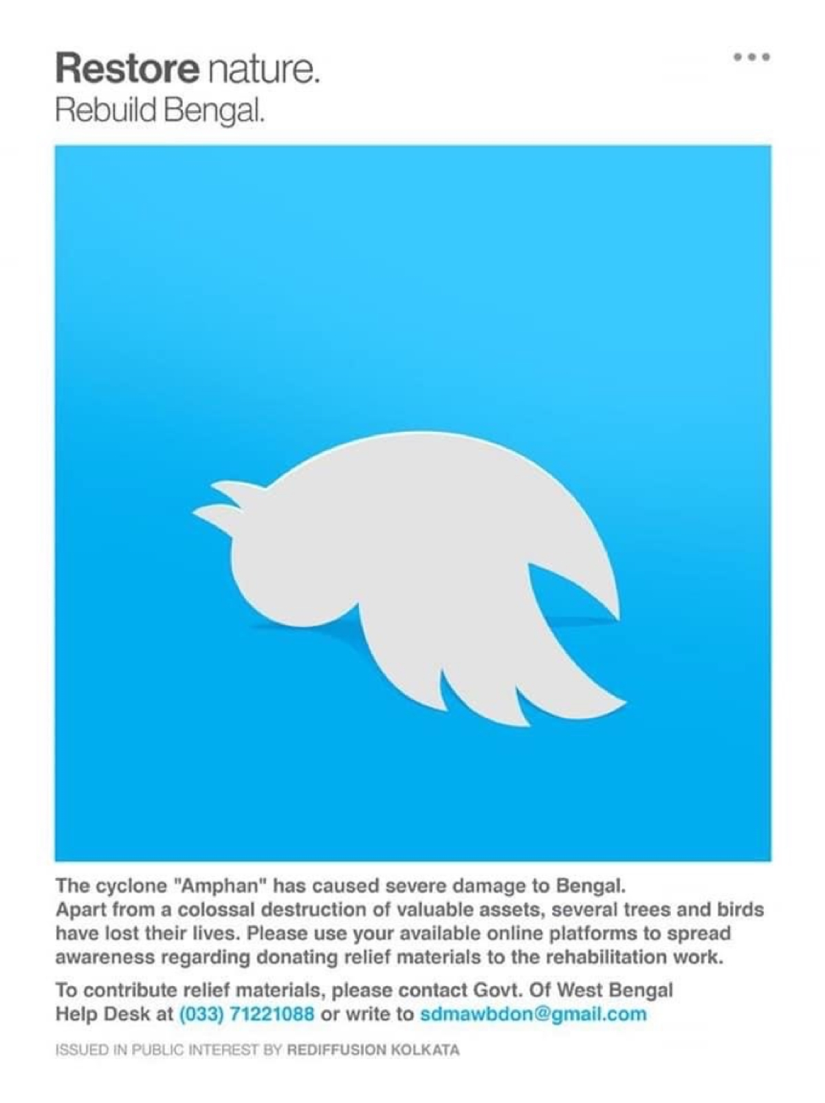 Rediffusion's campaign reimagines social logos to portray disconnectivity