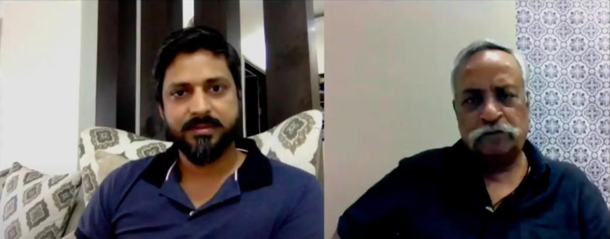 Satish Upadhyay in conversation with Piyush Pandey