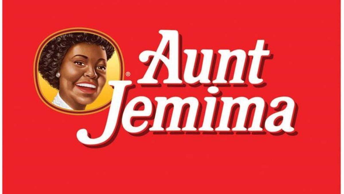 The old Aunt Jemima logo