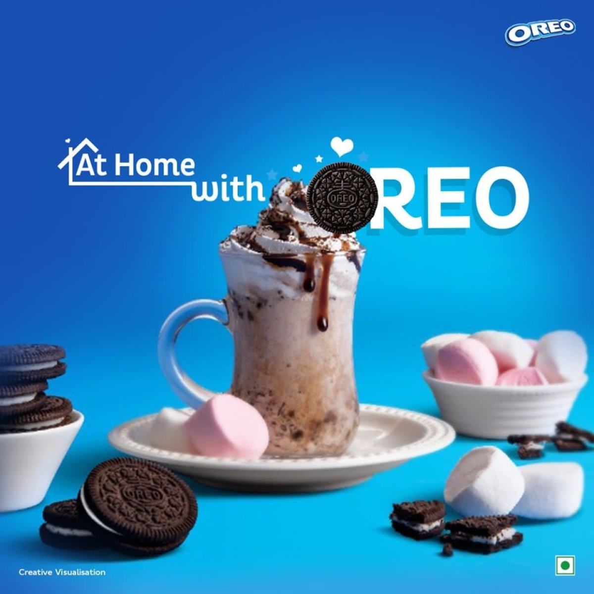 Oreo's 'at home' campaign asks kids, adults to make the most of WFH