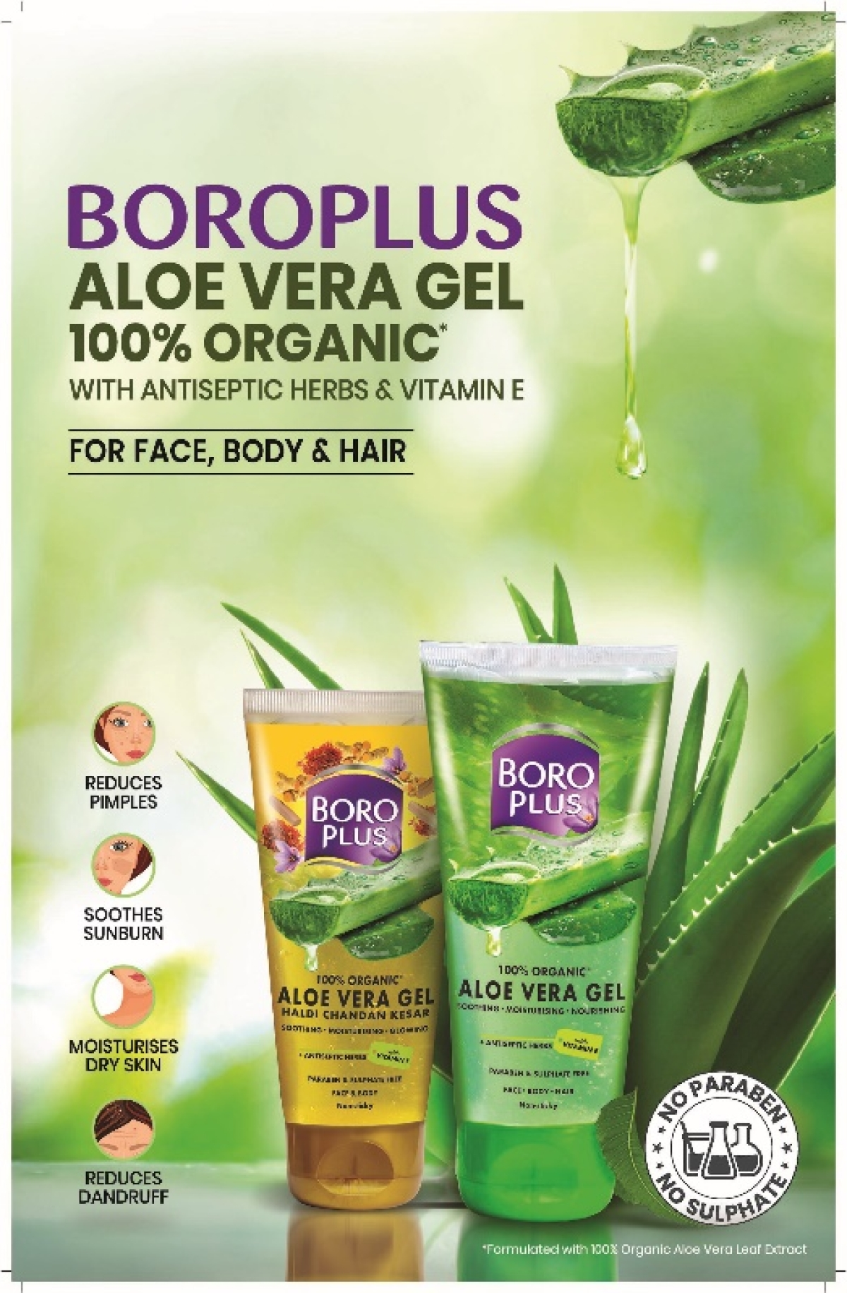 Emami launches BoroPlus Organic Aloe Vera Gel