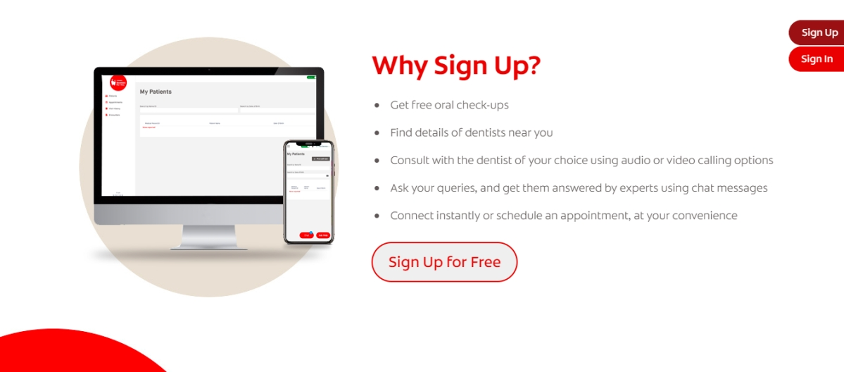 Colgate launches digital platform to virtually connect patients and dentists
