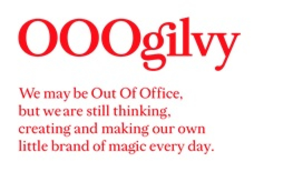 O, is that Ogilvy's new email signature?