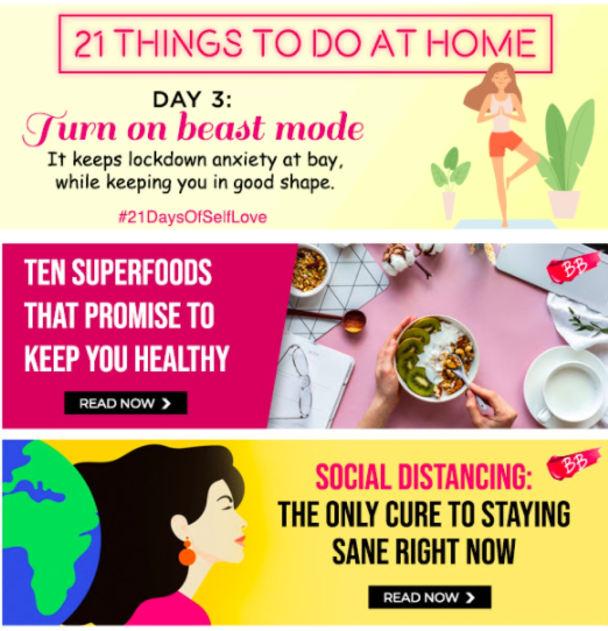 Nykaa mailers zoom in on skincare, healthcare and fitness during WFH