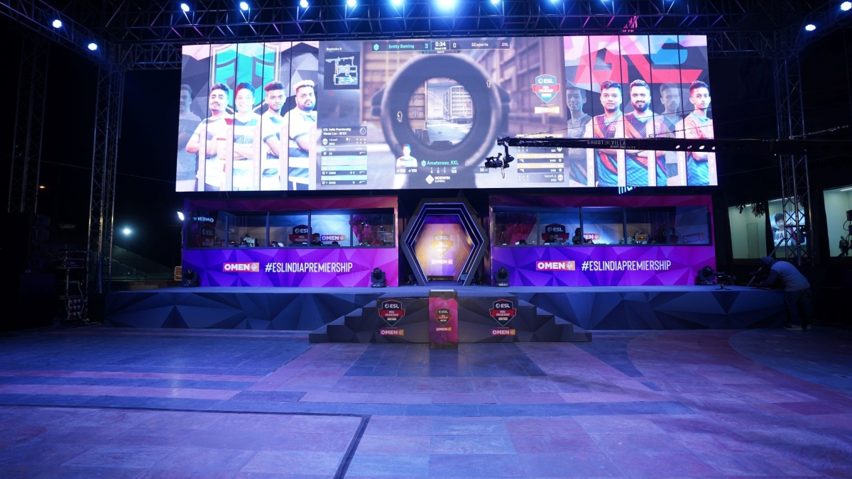 An image of the ESL Arena