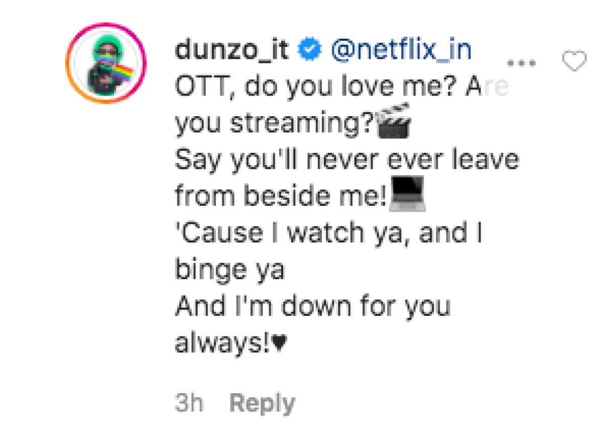 Dunzo thanks Netflix for deliveryman's story in its YouTube Special