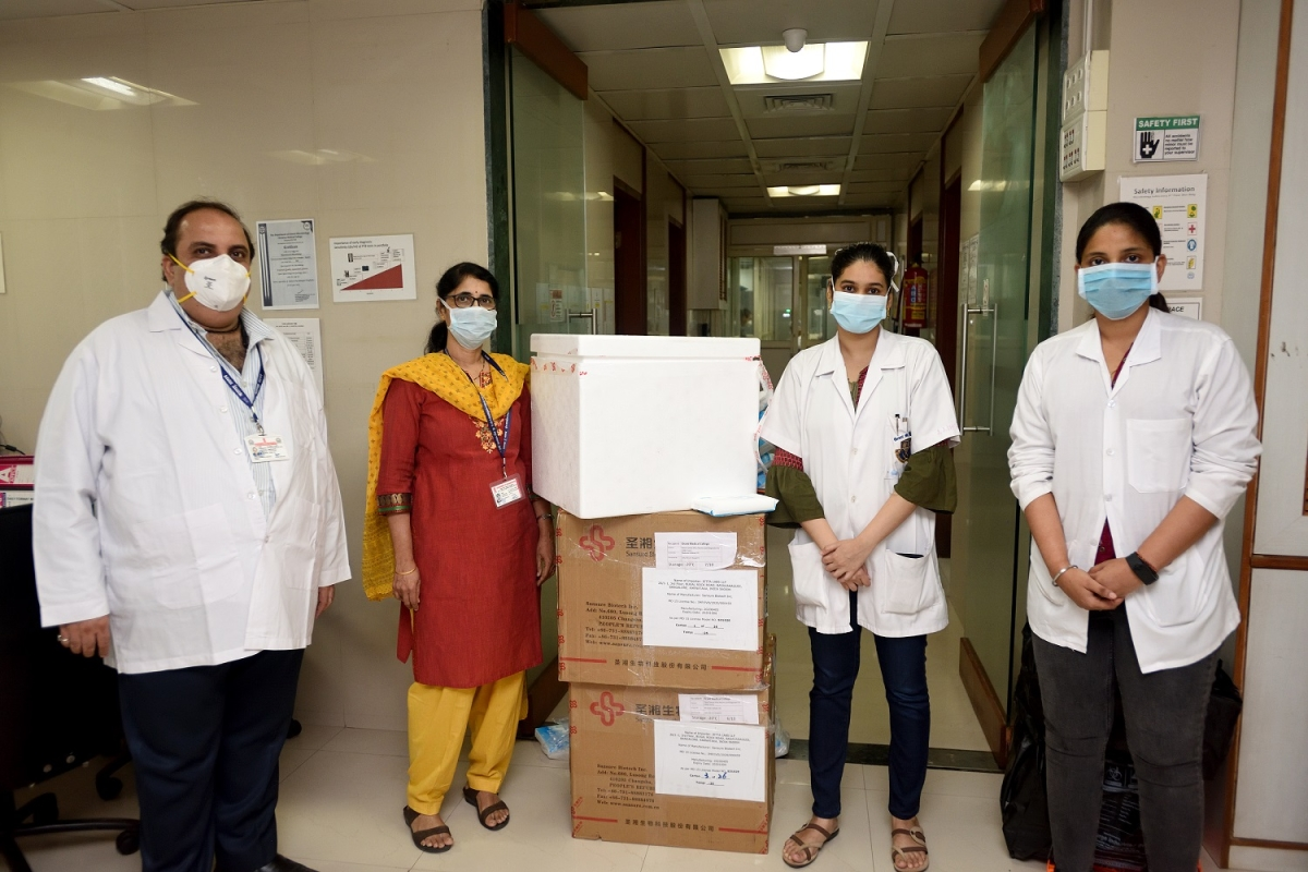 HUL donates over 74,000 testing kits to tackle the spread of Covid-19 in India