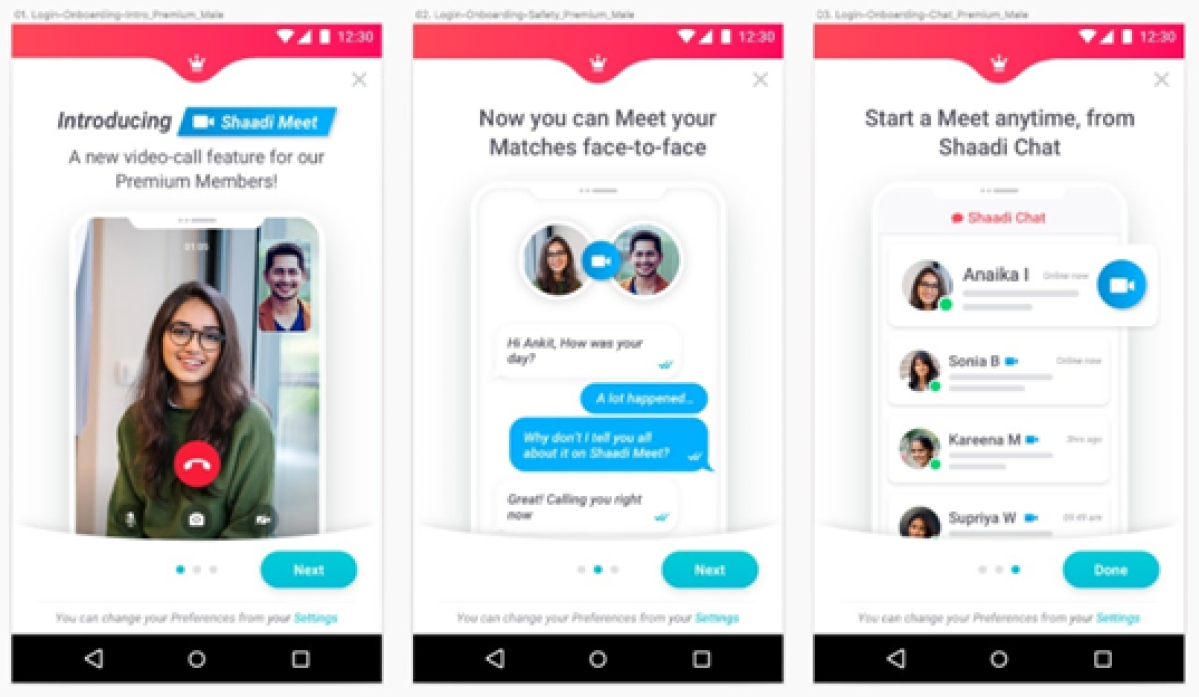 Shaadi.com's new video calling feature witnesses surge in usage