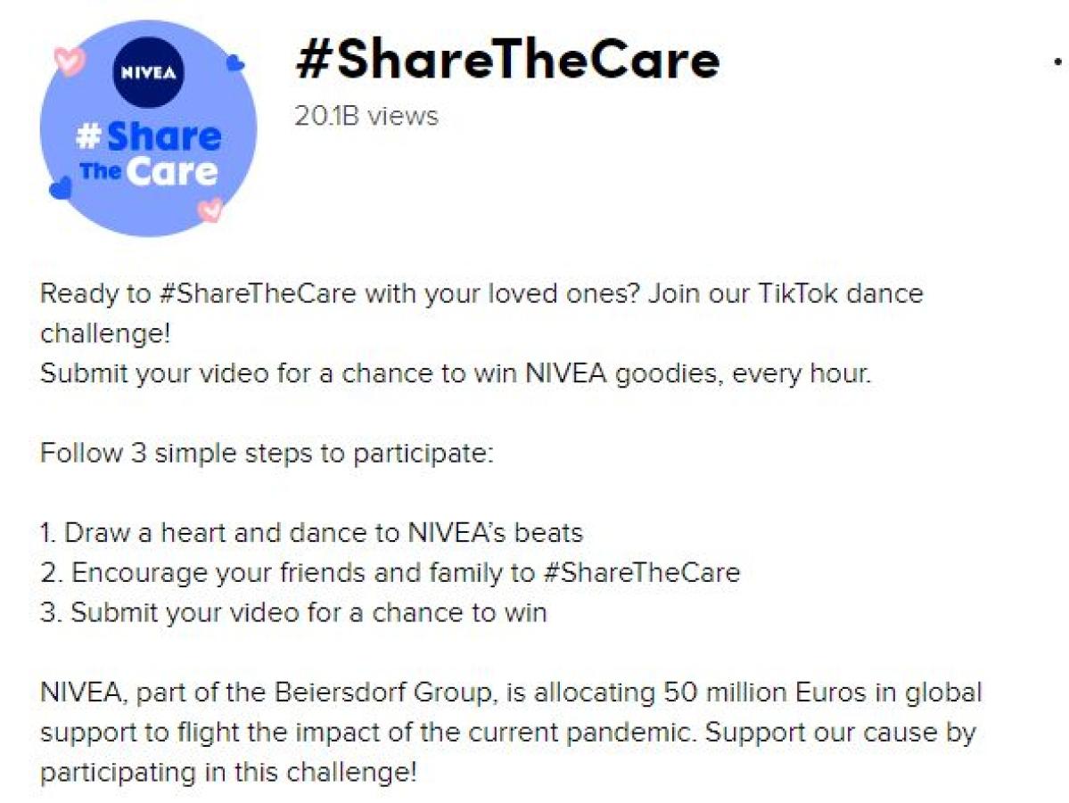 NIVEA makes TikTok debut with new campaign
