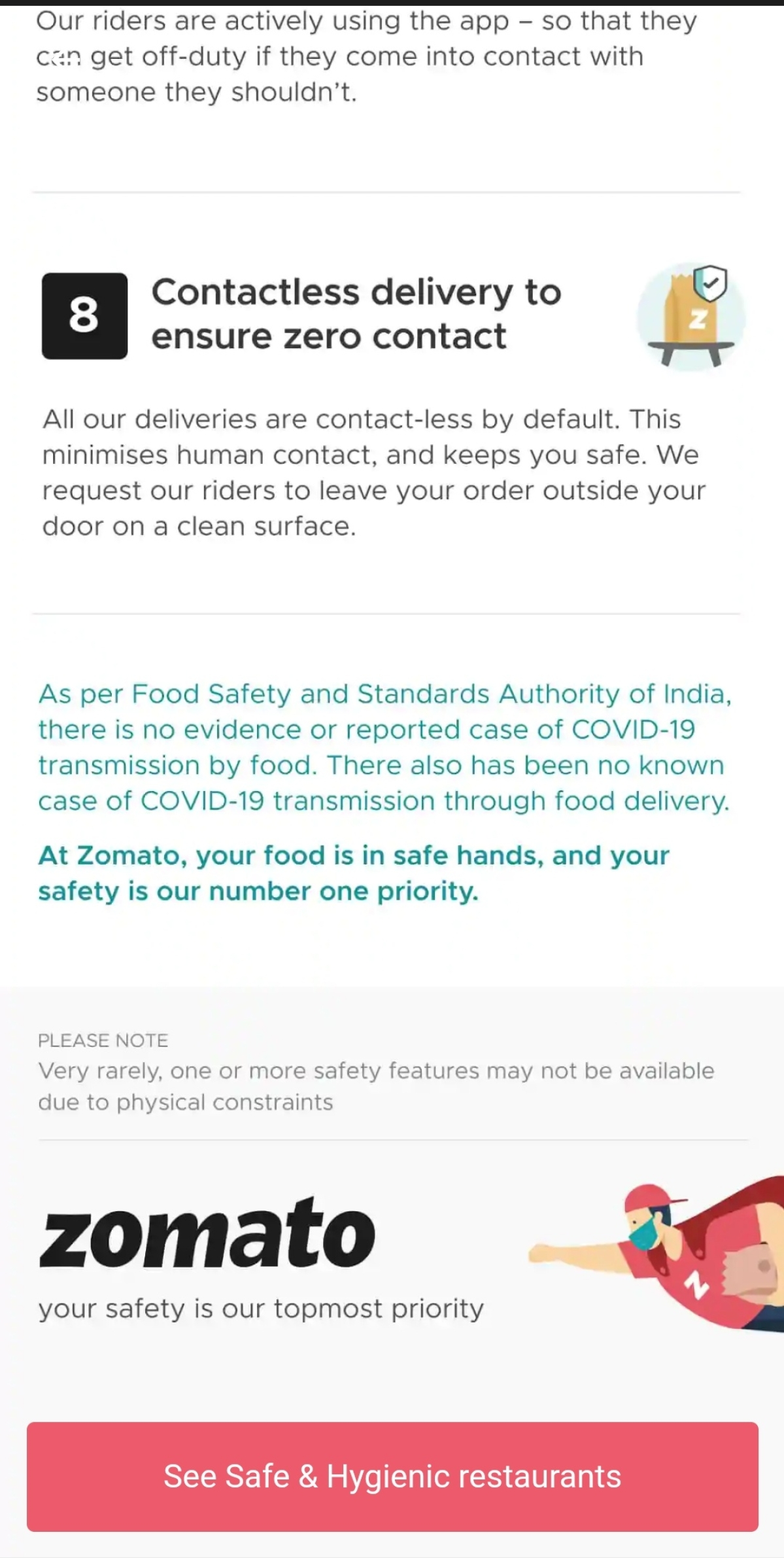 Zomato's ad makes a case for 'safety' while ordering in