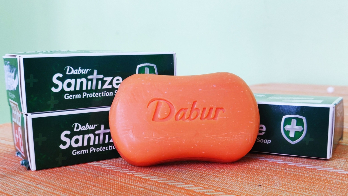 Dabur 'Sanitize' soap