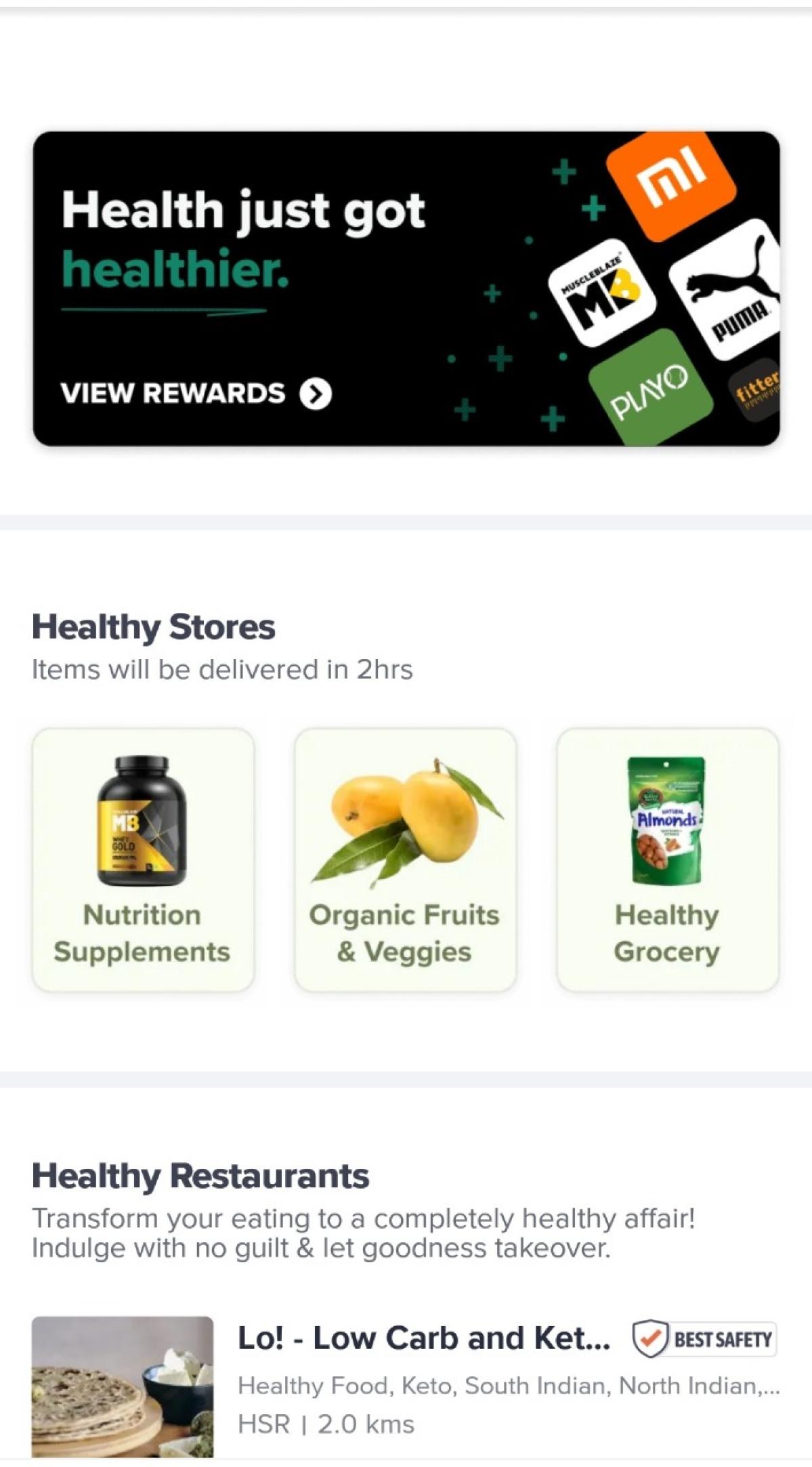 Swiggy launches 'Health Hub'; focuses on healthy eating