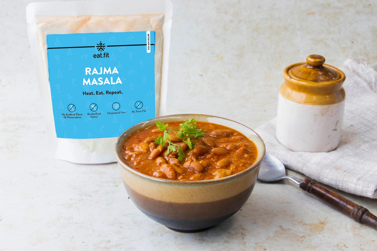 Rajma Masala variant of the ready-to-eat food