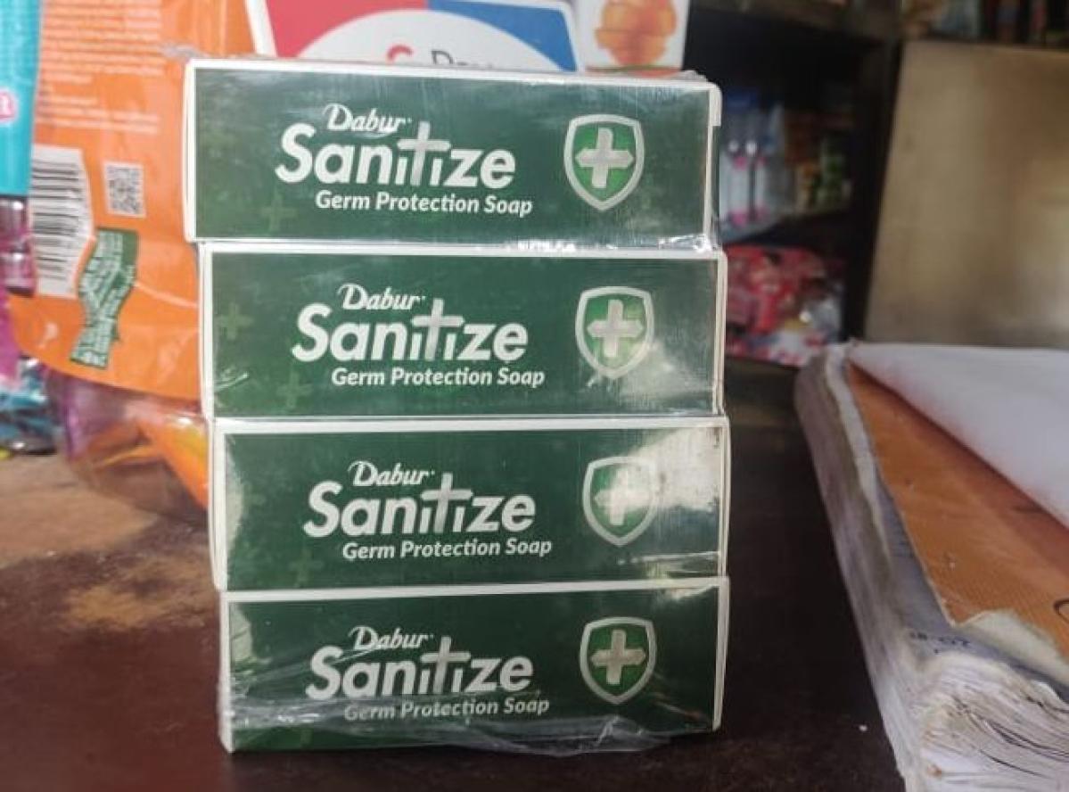 Dabur 'Sanitize' soap