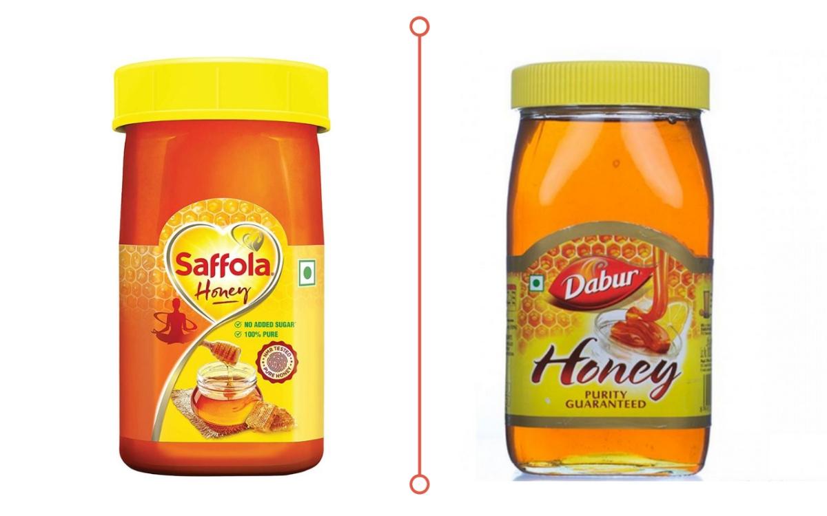 Marico's Saffola Honey vs. Dabur Honey