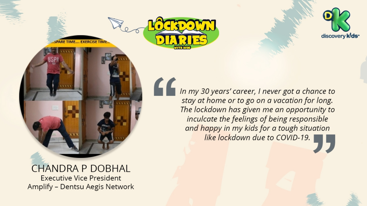 Discovery Kids' new initiative #LockdownDiariesWithKids brings together stories of WFH with Kids