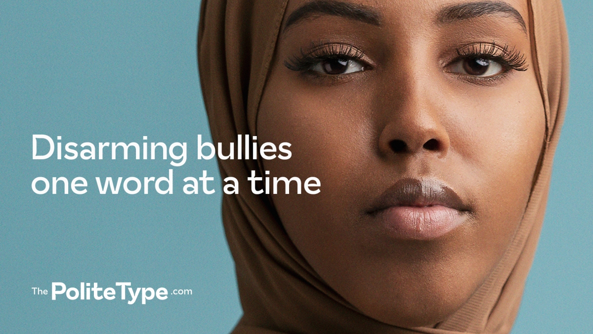 TBWA\Helsinki releases 'polite typeface' to take on cyberbullying