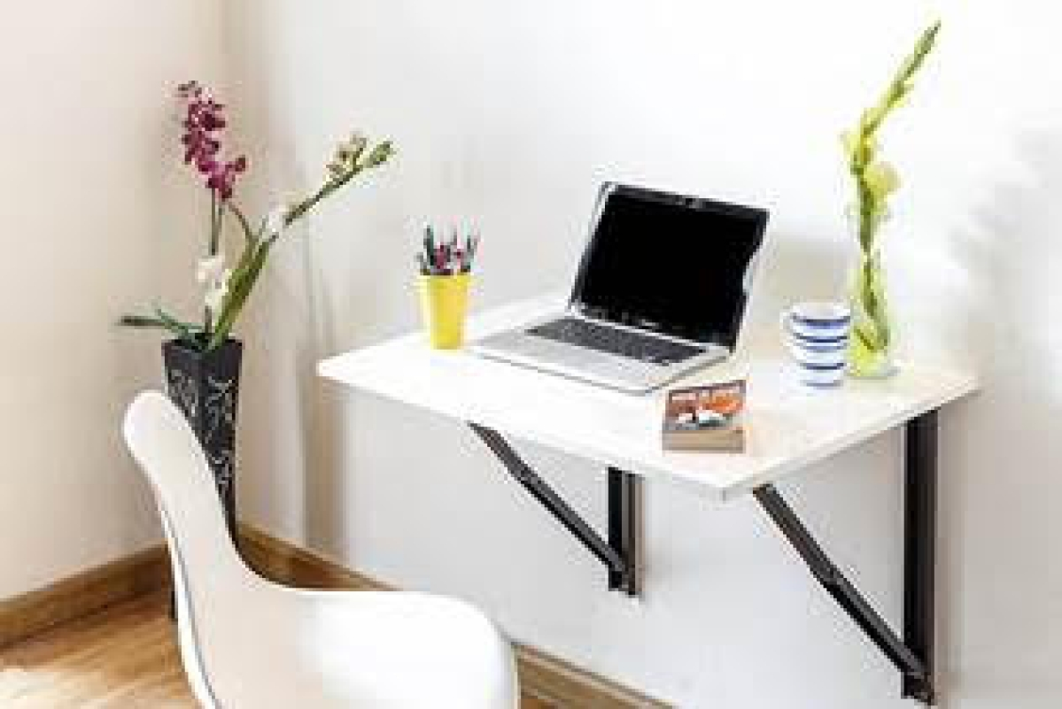 A wall mounted office/ computer table available on Amazon