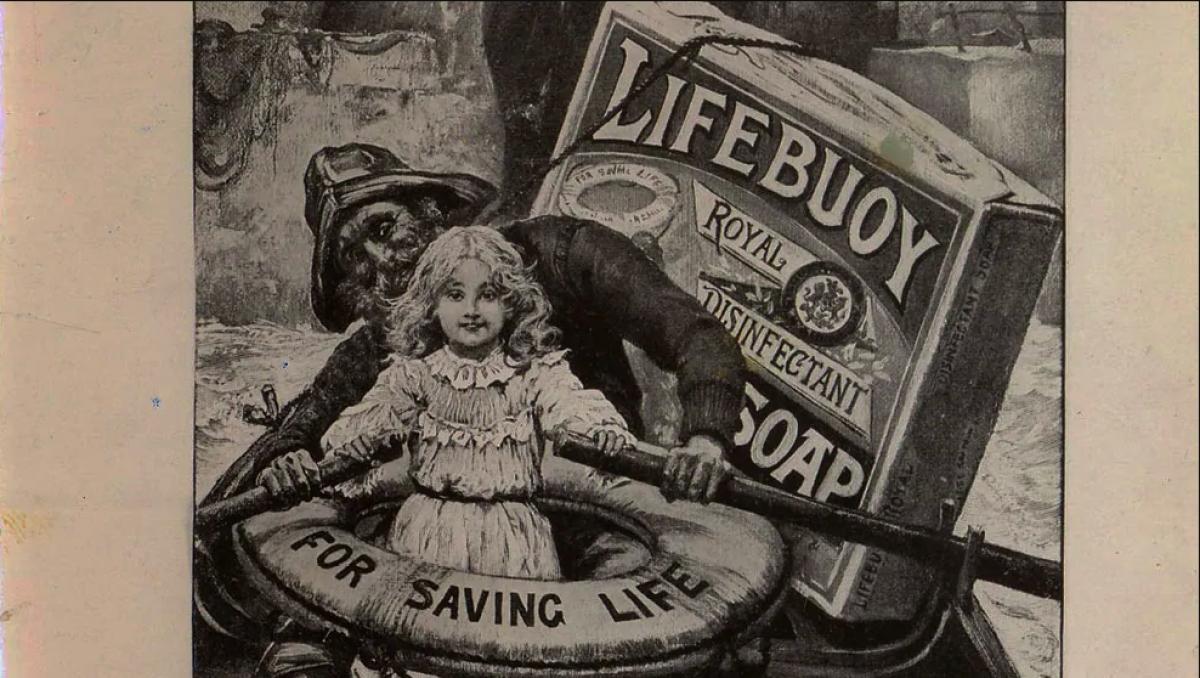 Lifebuoy ad from 1894