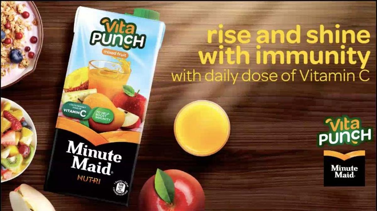 Minute Maid's new Vita Punch variant