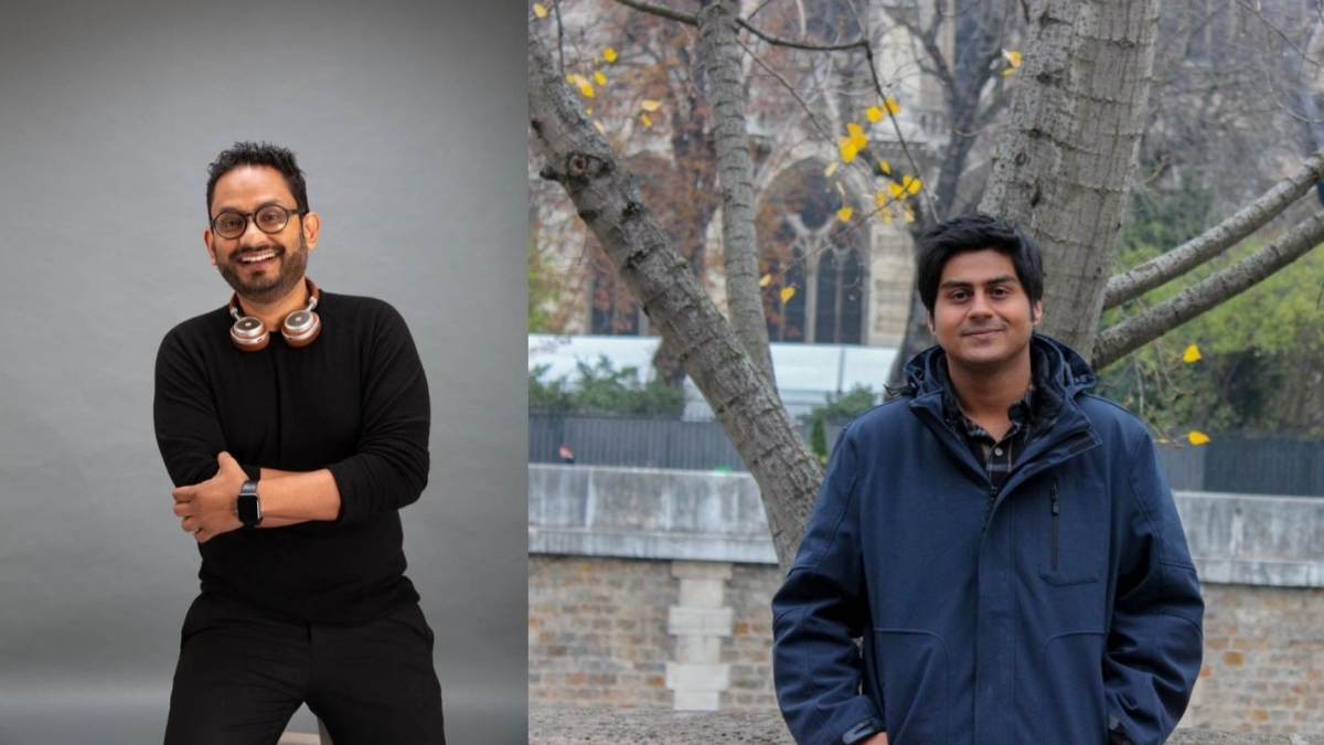 (L to R) Rajdeepak Das and Arjuna Gaur