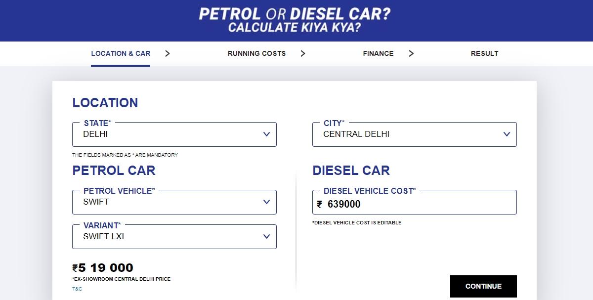 Maruti Suzuki addresses petrol versus diesel car myths in new campaign