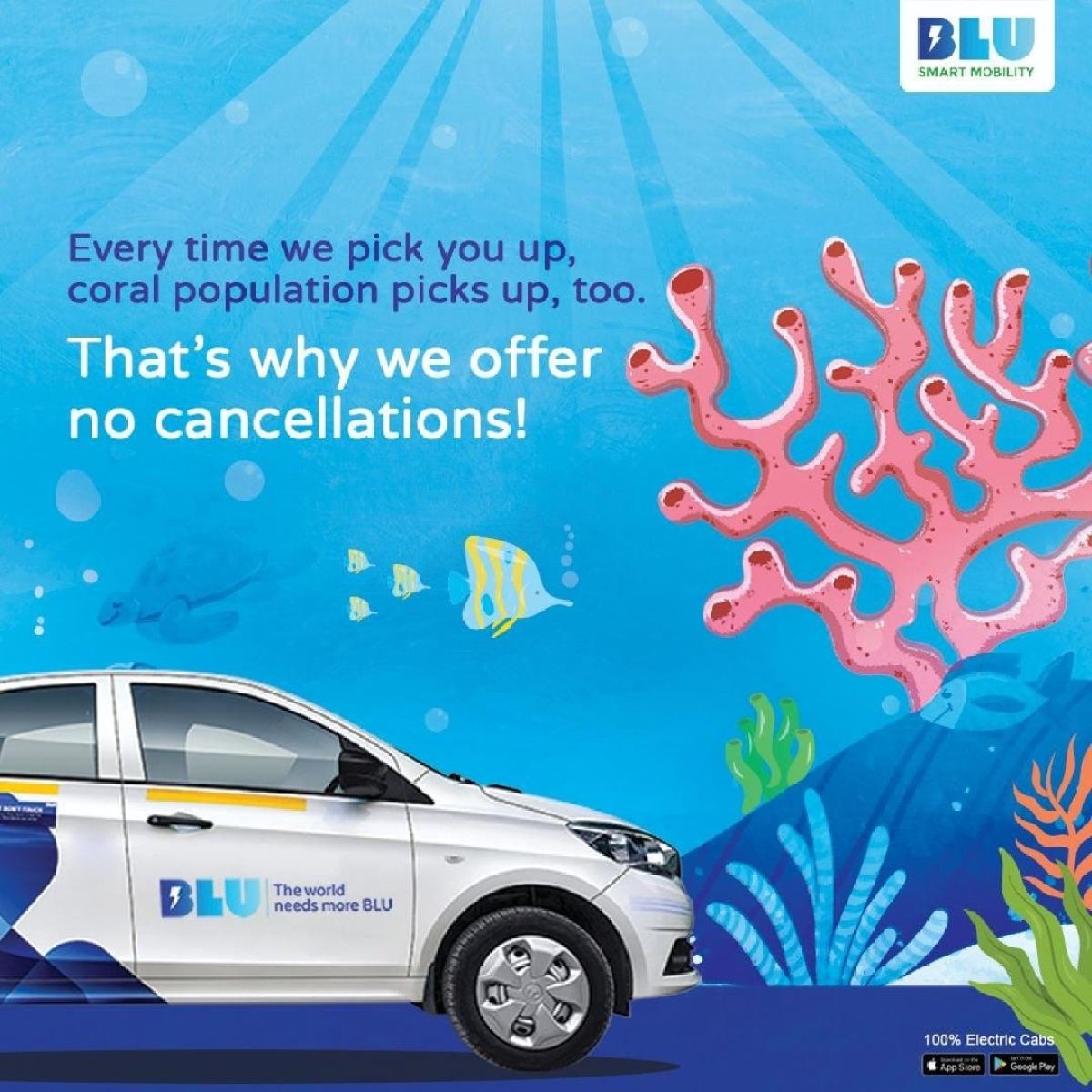 Electric cab hailing company BluSmart sees 80% hike in consumers as compared to pre-COVID times