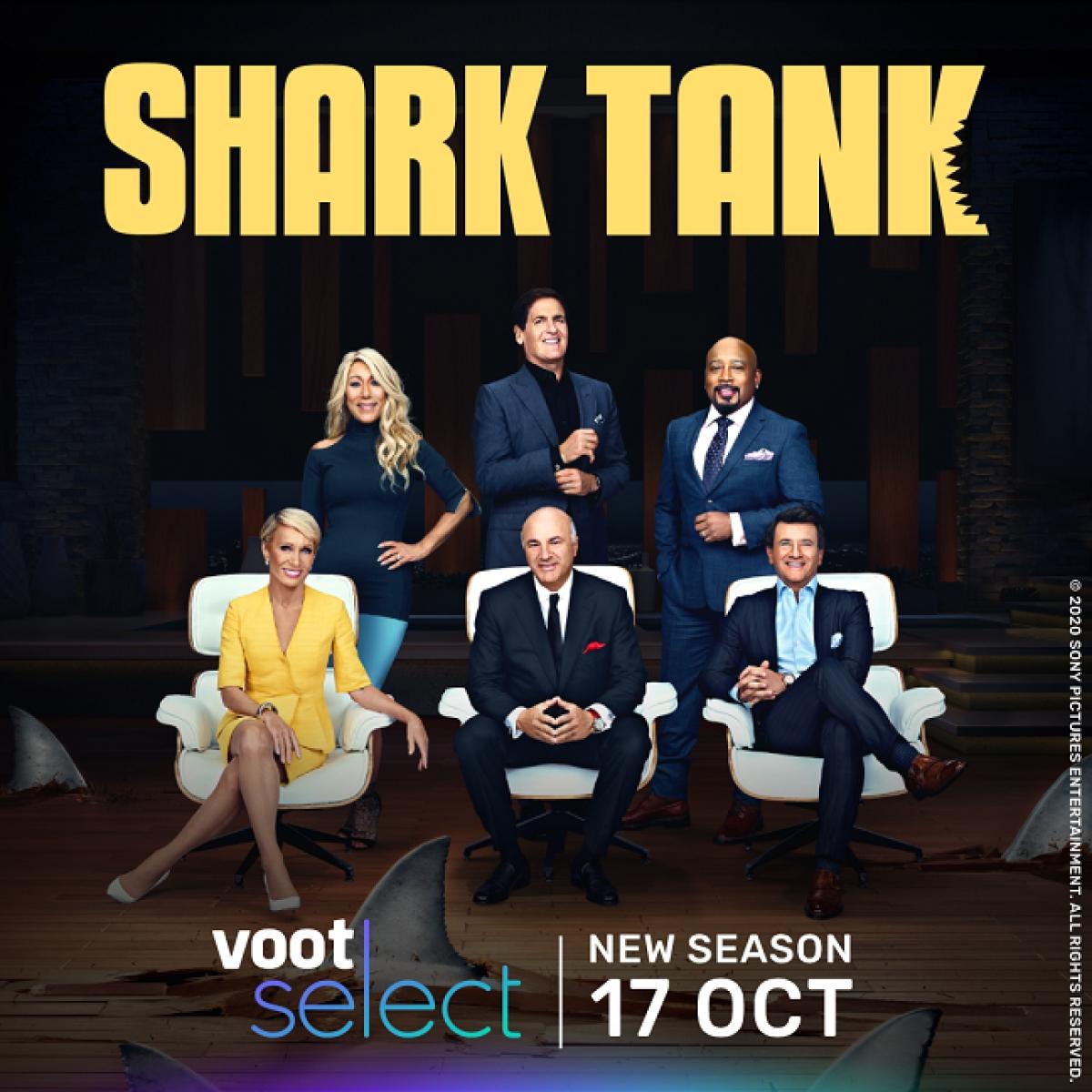 Voot Select to showcase fresh episodes of Shark Tank – Season 12 alongside US telecast
