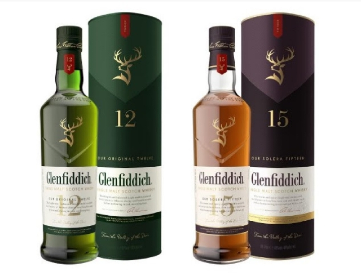 Glenfiddich's new packaging