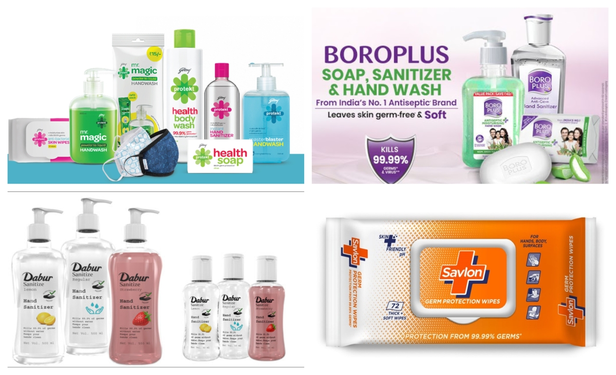 How large is the hand sanitiser market?