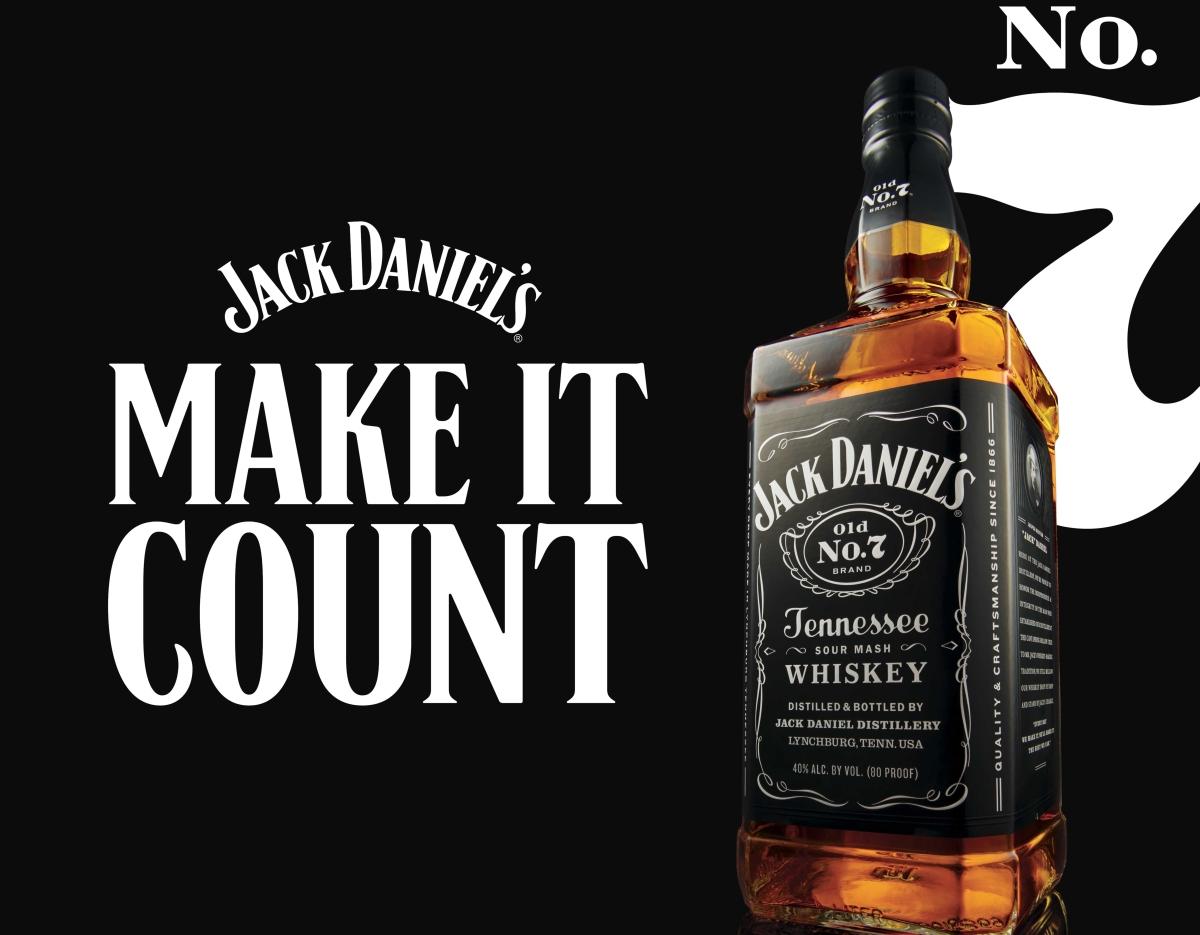 Jack Daniels' new tagline