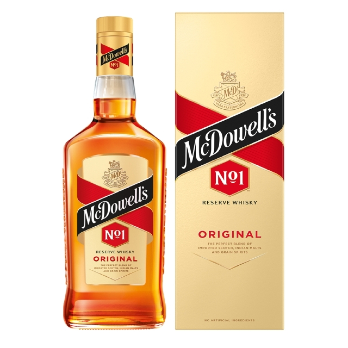 McDowell's new packaging