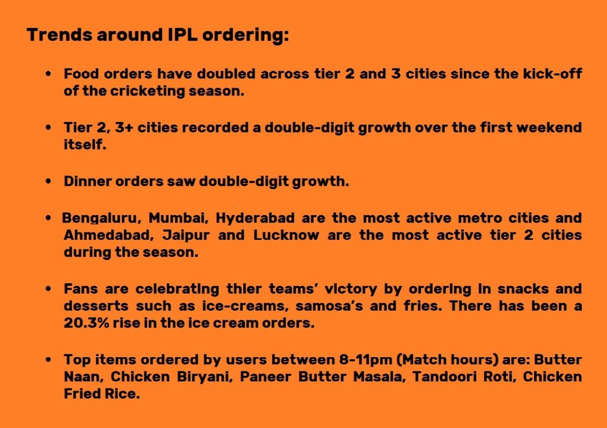 IPL ordering trends