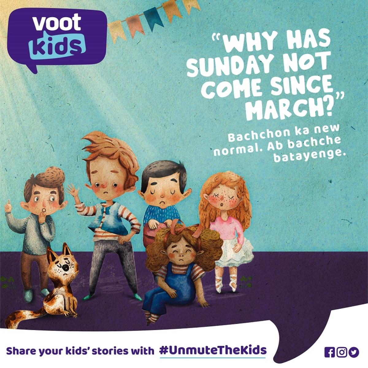 This Children's Day #UnmutetheKids, says Voot Kids