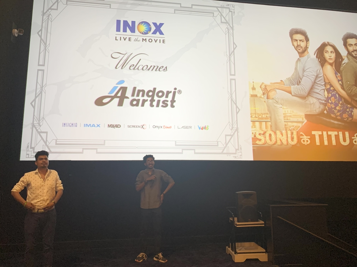 A song launch at INOX