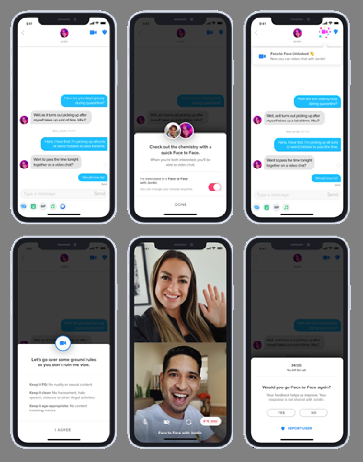 Tinder Releases Face to Face Video Calling in India