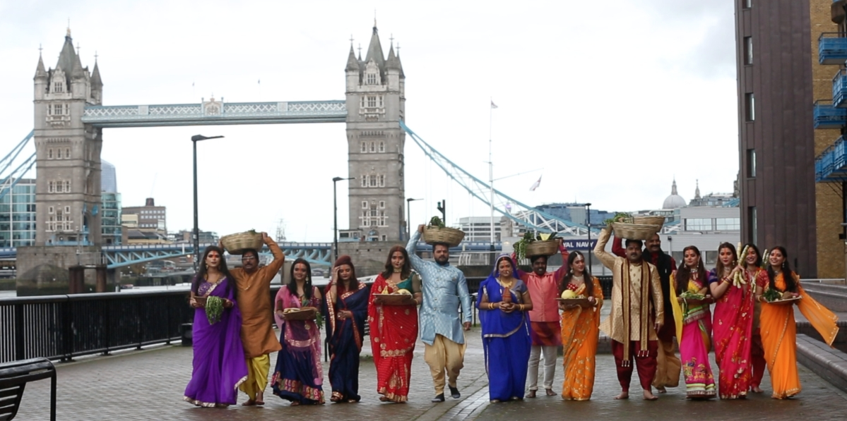 Enterr10 TV Network celebrates Chhath Puja in London