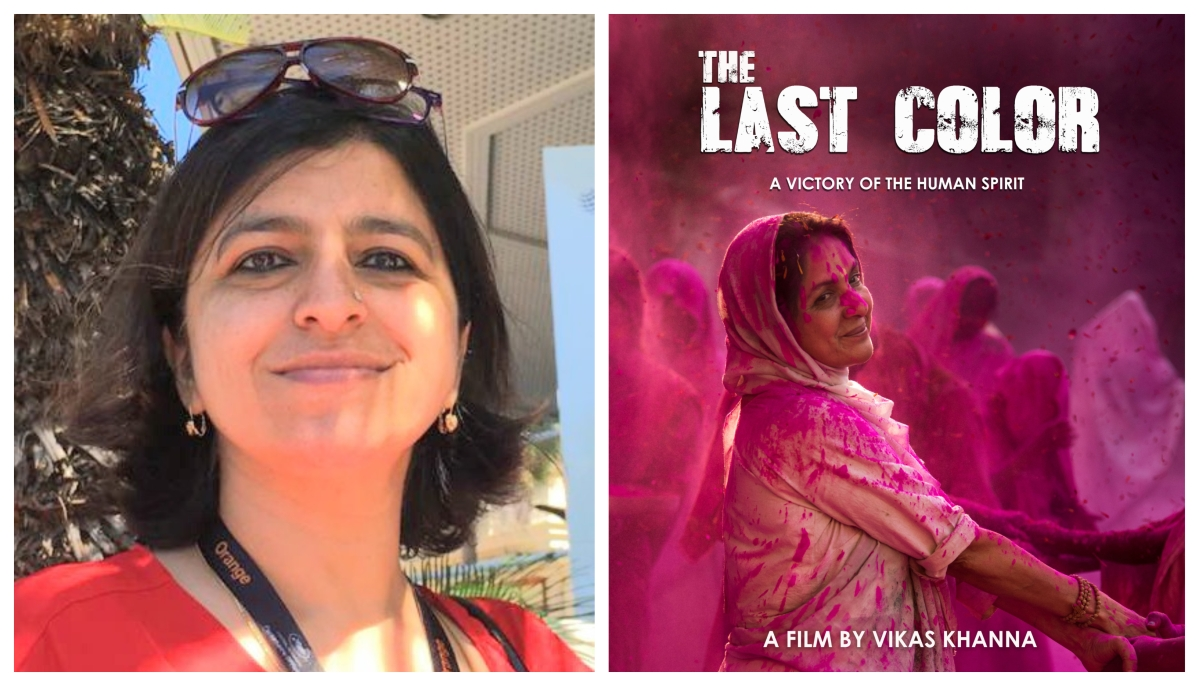 Poonam Kaul - producer of the film The Last Color