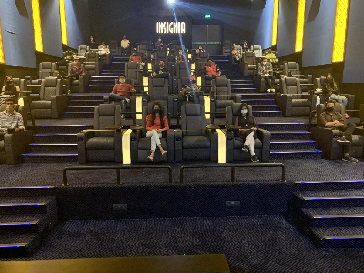 Private movie screening at INOX