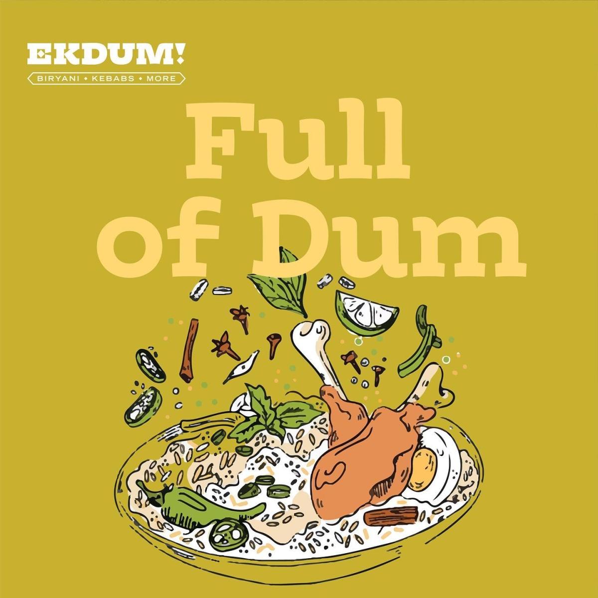 Domino's owner Jubilant FoodWorks enters biryani biz with 'Ekdum!'