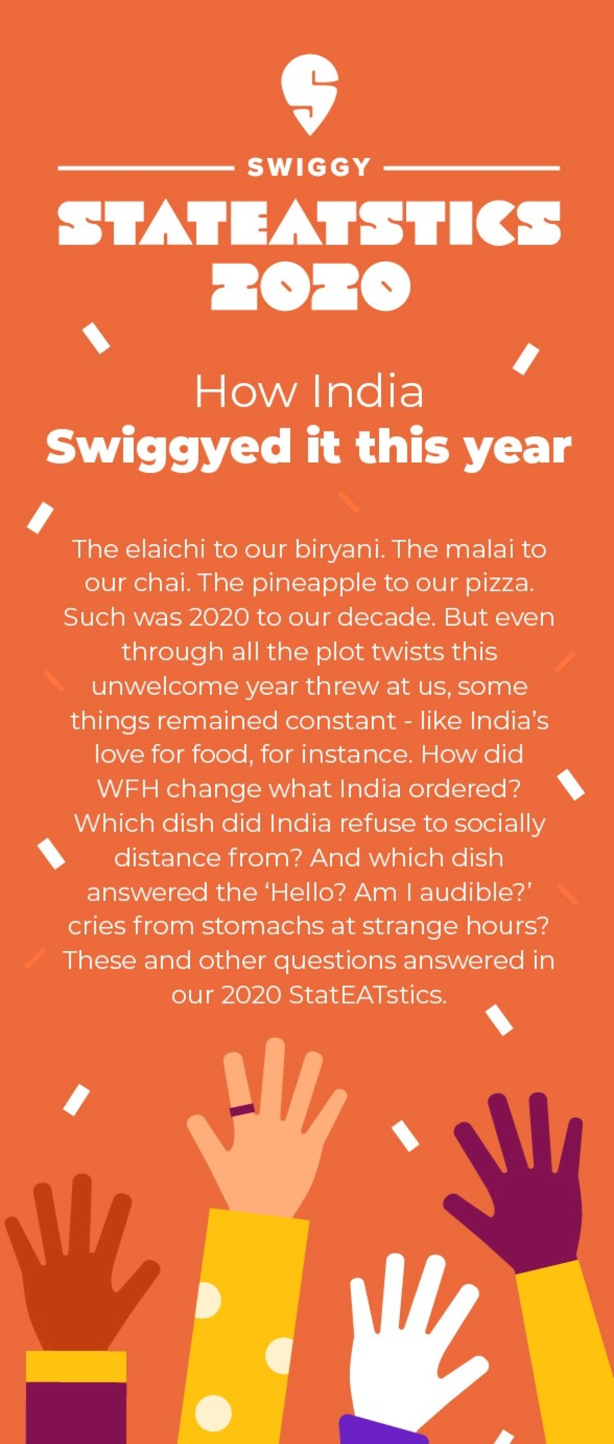 Biryani was ordered more than once every second in 2020: Swiggy StatEATstics 2020