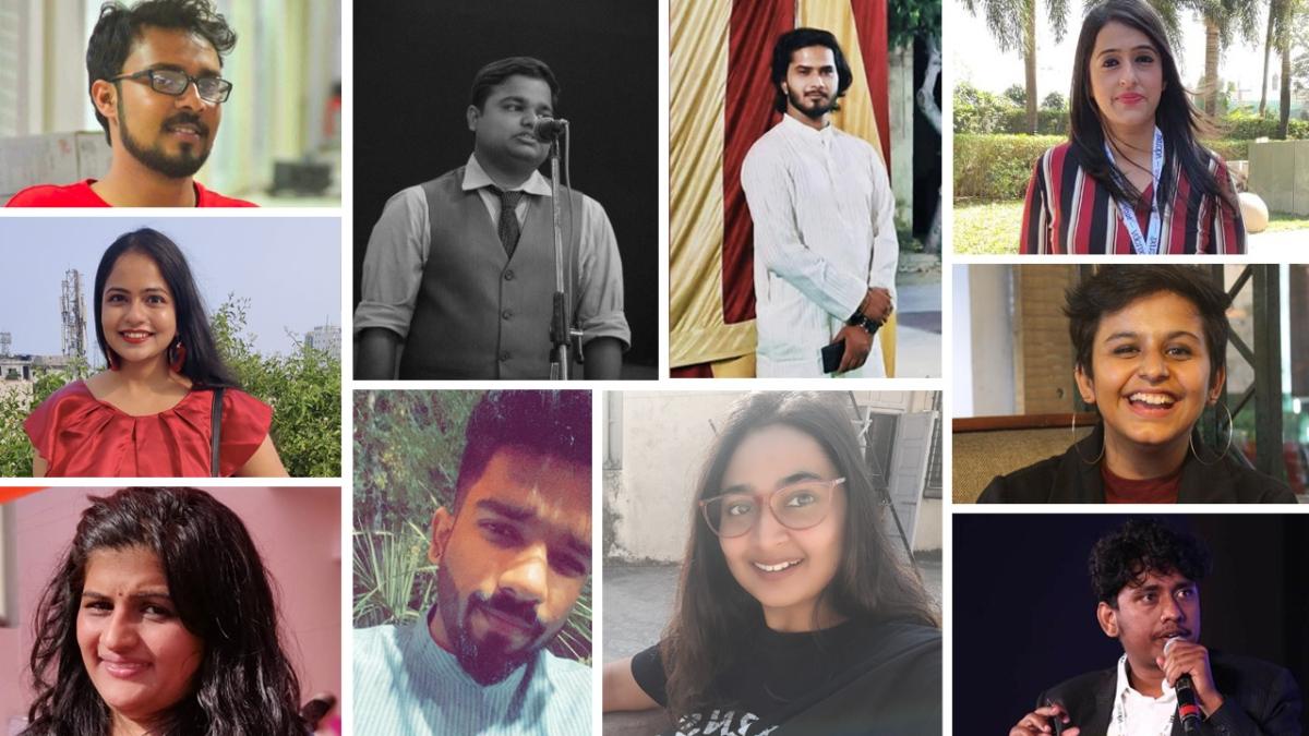 (L-R, column-wise: Abid Hussain Barlaskar, Aishwarya Ramesh, Ankita Madan, Shreyas Kulkarni, Abhinav Anand, Debashish Chakraborty, Ashwini Gangal, Priyanka Chanana, Ananya Pathak, Anirban Roy Choudhury)