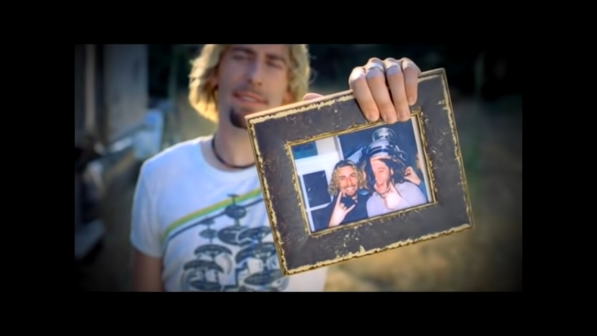 A still from the song 'Photograph'