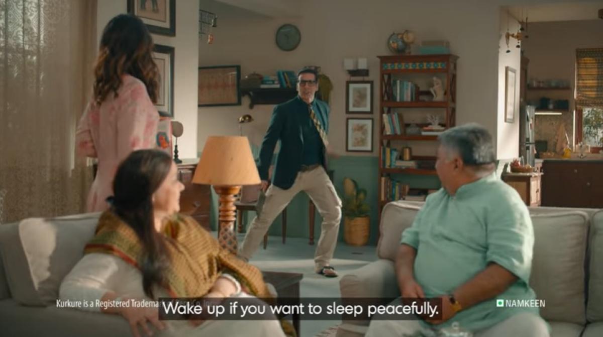 Kurkure tries to break everyday monotony in new ad…