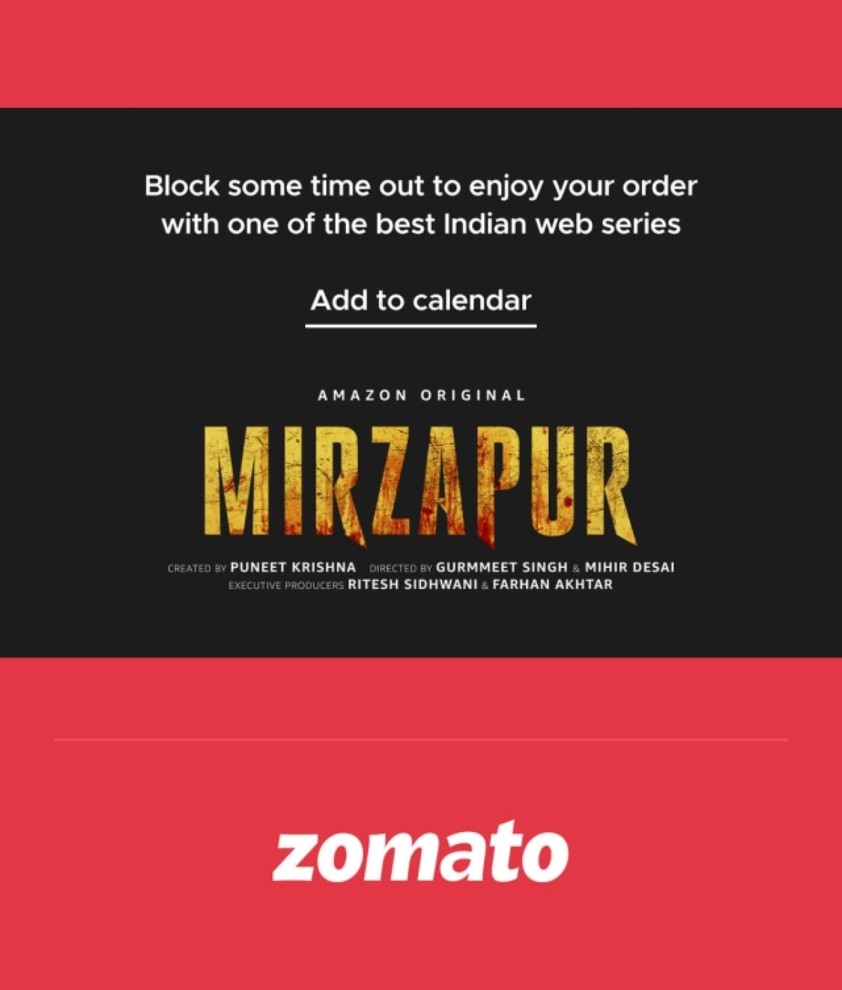Zomato's new mailer delivers a letter to you from Santa Claus himself