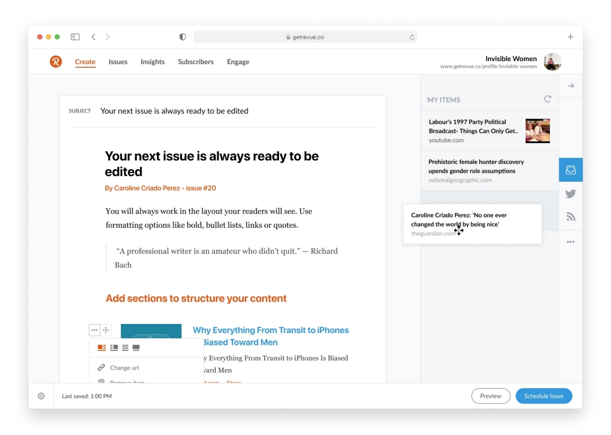 Twitter acquires publishing platform Revue, enters the newsletter and subscriptions space