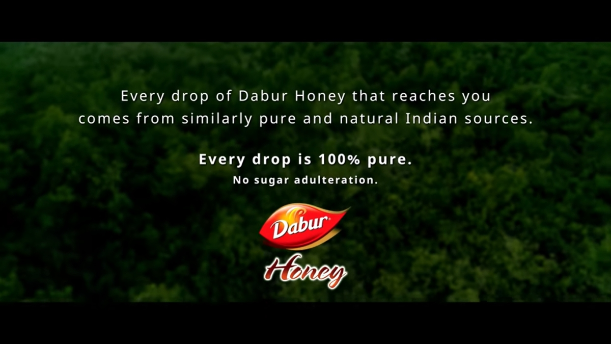 '100% pure, no sugar adulteration,' says Dabur in 3-minute film about the way honey is sourced