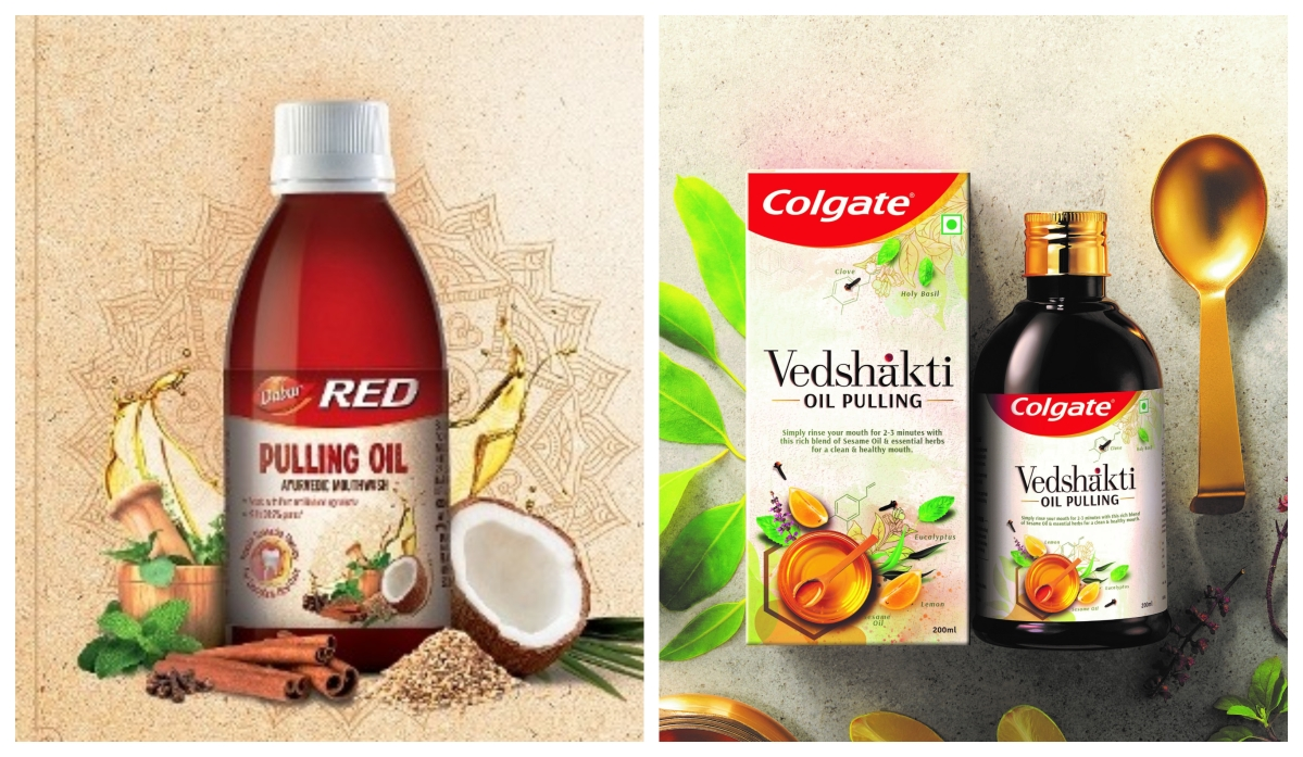Dabur, Colgate refresh age-old 'oil pulling' practice for new launches, take Ayurveda route to mouthwashing